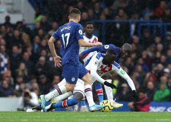 Mateo Kovačić na utakmici Chelsea - Crystal Palace (Foto: Yui Mok/Press Association/PIXSELL)