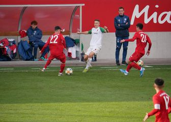 Franjo Ivanović ispred Miroslava Klosea (Foto: GOL.hr)