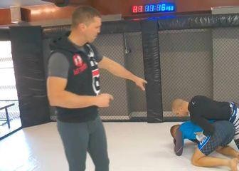 Zelg Galešić u MMA školi emisije Lucky Punch