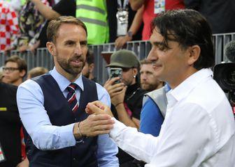 Gareth Southgate i Zlatko Dalić (Foto: Christian Charisius/DPA/PIXSELL)