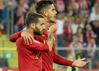 Portugalci slave pogodak protiv Poljske (Foto: AFP)