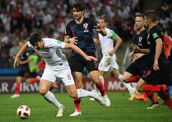 Hrvatska – Engleska (Foto: AFP)