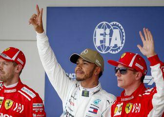Vettel, Hamilton i Raikkonen (Foto: HOCH ZWEI/DPA/PIXSELL)