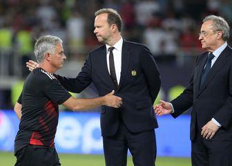 Jose Mourinho, Ed Woodward i Florentino Perez (Foto: Nick Potts/Press Association/PIXSELL)