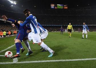 Barcelona - Espanyol (Foto: AFP)