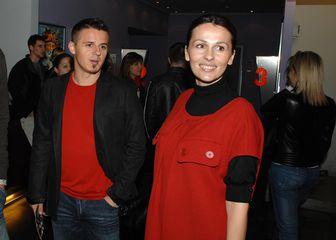 Milana i Goran Vlaović (Foto: Patrik Macek/PIXSELL)