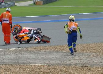 Pad Marca Marqueza (Screenshot Moto GP)