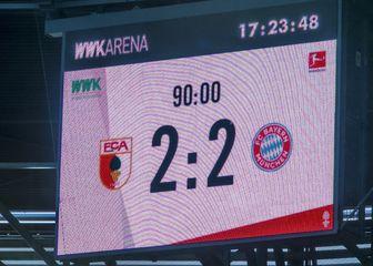 Augsburg - Bayern 2:2 (Foto: NordPhoto/NordPhoto/PIXSELL)