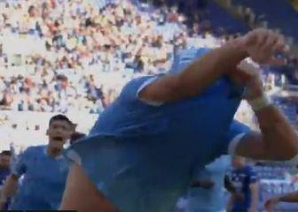 Ciro Immobile slavi pogodak (Screenshot)