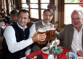 Salihamidžić, Kovač i Rummenigge (Foto: AFP)