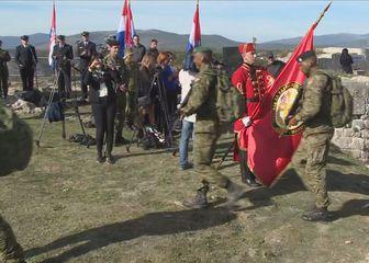 Vojnici na kninskoj tvrđi (Foto: Dnevnik.hr)