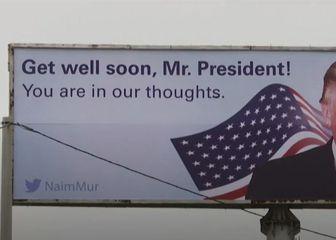 U Kosovu osvanuo plakat podrške Trumpu - 1