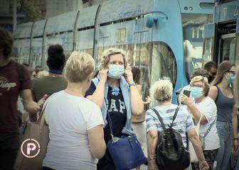 Ljudi u maskama, ilustracija