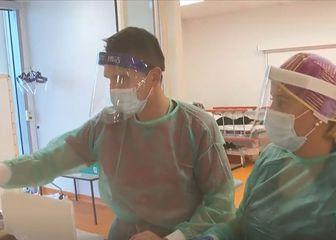 Doktori s maskama, ilustracija