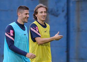 Luka Modrić i Andrej Kramarić