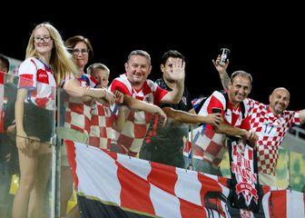 Hrvatski navijači na Cipru