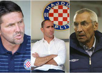 Siniša Oreščanin, Igor Tudor i Eduardo Reja (Foto: Pixsell)