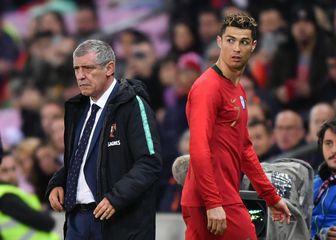 Fernando Santos i Cristiano Ronaldo (Foto: AFP)