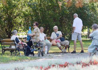 Umirovljenici, ilustracija (Foto: Nikola Cutuk/PIXSELL)