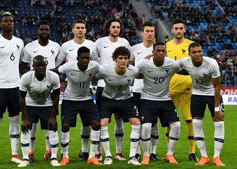 Momčad Francuske (Foto: AFP)
