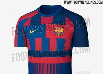 Kontroverzni dres Barcelone (Foto: Facebook/Footyheadlines.com)