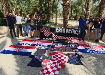 Hrvatski navijači pristižu u Elche (GOL.hr)