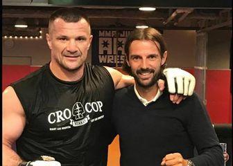 Cro Cop i Mihael Mikić (Facebook Cro Cop)