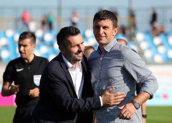 Nenad Bjelica i Sergej Jakirović (Photo: Goran Stanzl/PIXSELL)