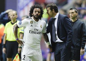 Marcelo i Julen Lopetegui (Foto: AFP)