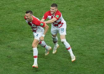 Ivan Perišić i Ante Rebić (Foto: Elmar Kremser/DPA/PIXSELL)