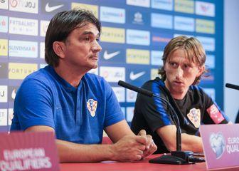 Luka Modrić i Zlatko Dalić (Photo: Davor Javorovic/PIXSELL)