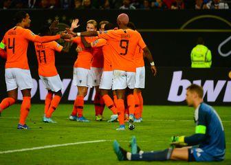 Slavlje Nizozemske (Foto: AFP)