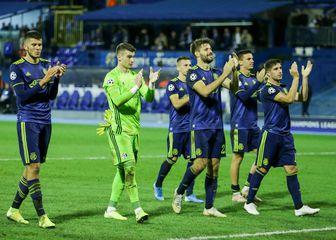 Slavlje igrača Dinama (Foto: Filip Kos/PIXSELL)