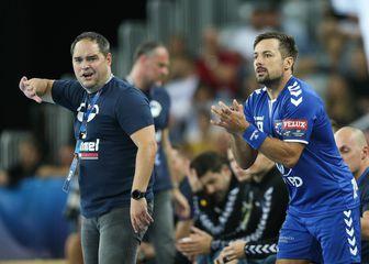 Branko Tamše i Zlatko Horvat, trener i kapetan PPD Zagreba (Foto: Luka Stanzl/PIXSELL)