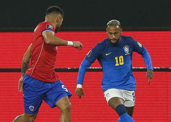 Neymar protiv Čilea