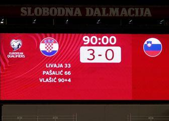 Hrvatska pregazila Sloveniju