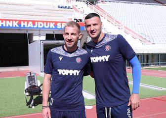 Danijel Subašić i Dario Melnjak