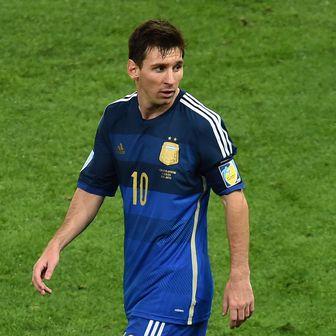 Messi na SP 2014 (Foto: AFP)