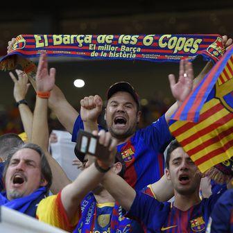 Navijači Barcelone (Foto: AFP)