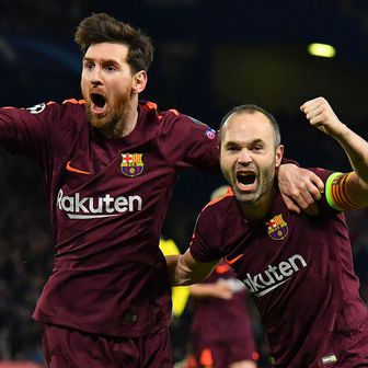 Lionel Messi i Andres Iniesta (Foto: AFP)