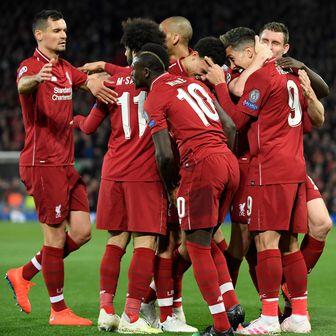 Igrači Liverpoola slave pogodak (Foto: AFP)