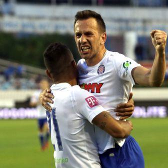 Caktaš slavi gol (Foto: Miranda Cikotic/PIXSELL)