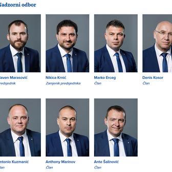 Nadzorni odbor Hajduka (Screenshot: hajduk.hr)