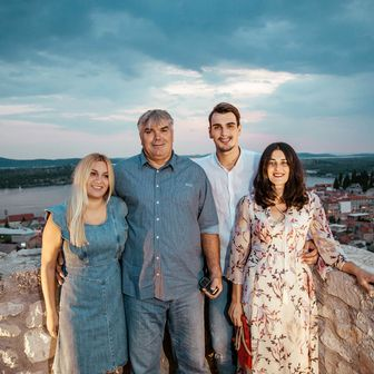 Dario Šarić s obitelji (Foto: Tomislav Moze)