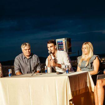 Dario Šarić na press konferenciji (Foto: Tomislav Moze)