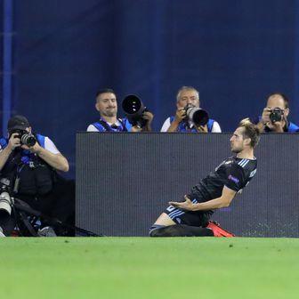 Izet Hajrović slavi pogodak (Foto: Sanjin Strukic/PIXSELL)