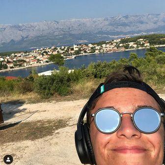 Lando Norris na odmoru u Hrvatskoj (Foto: Instagram)