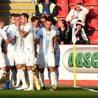 Slavlje igrača Aberdeena (Foto: Ian Rutherford/Press Association/PIXSELL)