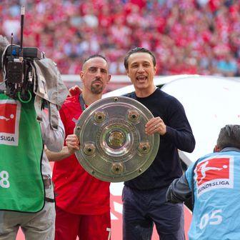 Franck Ribery i Niko Kovač (Foto: Werner Eifried/DPA/PIXSELL)