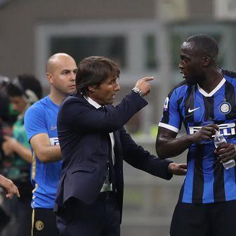 Antonio Conte i Romelu Lukaku (Foto: Jonathan Moscrop/Press Association/PIXSELL)